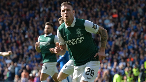 Anthony Stokes had three spells with Hibernian and was a Celtic player for six years