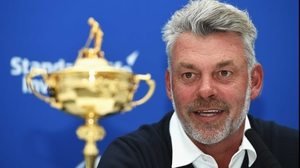 European captain Darren Clarke