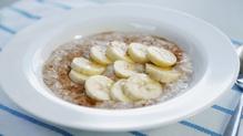 A tasty and healthy porridge.