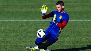 David de Gea is in line to start Spain's opening game against the Czech Republic
