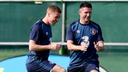 James McCarthy is nursing a groin injury and may be a doubt for the Serbia game