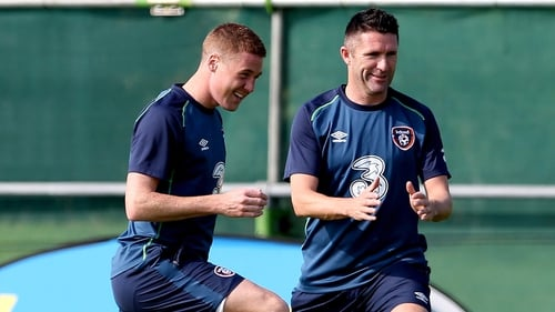 It's 'looking positive' for McCarthy and Keane ahead of Sweden clash