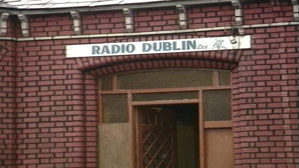 Eamon Cooke's pirate station Radio Dublin in Inchicore