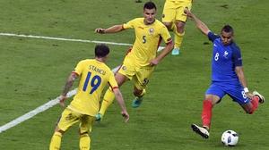 Dimitri Payet scores a stunning winner for France