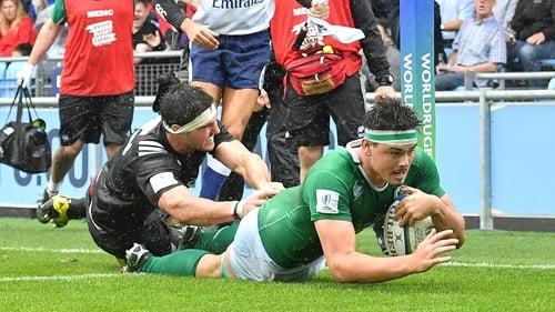 Max Deegan touches down