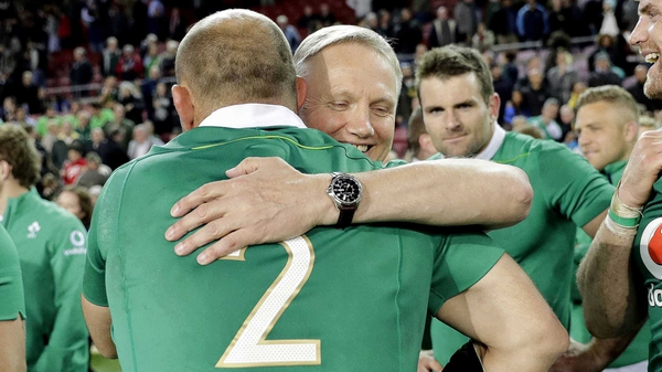 Ireland produced a stunning display in Newlands
