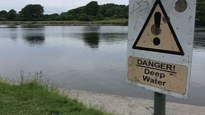 The young man had been swimming in the River Corrib when he got into difficulties