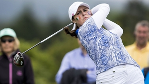 Ireland's Olivia Mehaffey claimed a valuable half point on the final day
