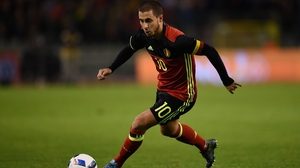 Eden Hazard had been suffering with a foot injury