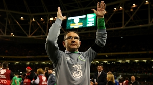 Martin O'Neill: 'We deserve to be here so let's try and do something.'