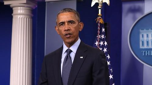 US President Barack Obama condemned the 'brutal murder'