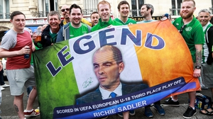 The Irish flag game has always been strong, with this one dedicated to a certain RTÉ pundit