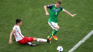 Steven Davis led the way once again but Poland were getting the better of the play