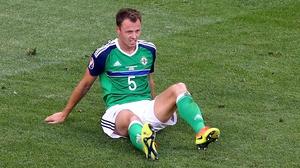 A dejected Jonny Evans reflects on defeat