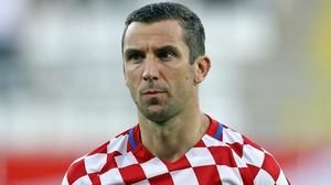 Darijo Srna has left the squad in France