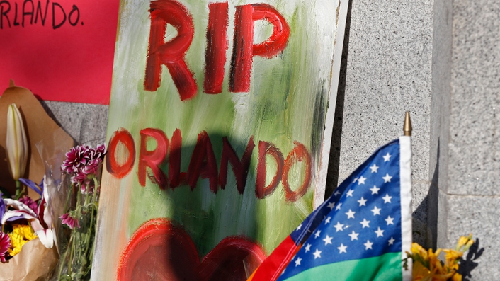 Vigil held in Orlando to honour victims of mass shooting