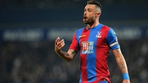 Damien Delaney has extended his stay at Crystal Palace