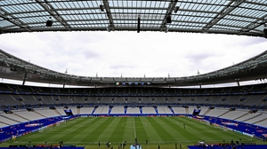 The magnificent Stade de France was pristine ahead of the Group E opener.