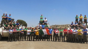 Flying the flag: Irish UN peacekeepers in the Golan Heights
