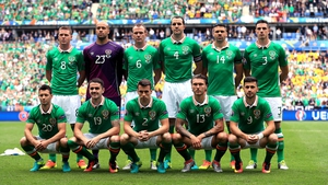 The Ireland team that carried the hopes of a nation onto the pitch at the Stade de France.