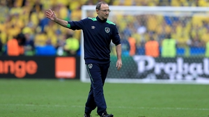 Martin O'Neill doesn't look like a happy win after the final whistle - more a case of a point lost than a point gained