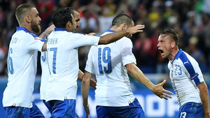 Italy have made a flying start to Euro 2016