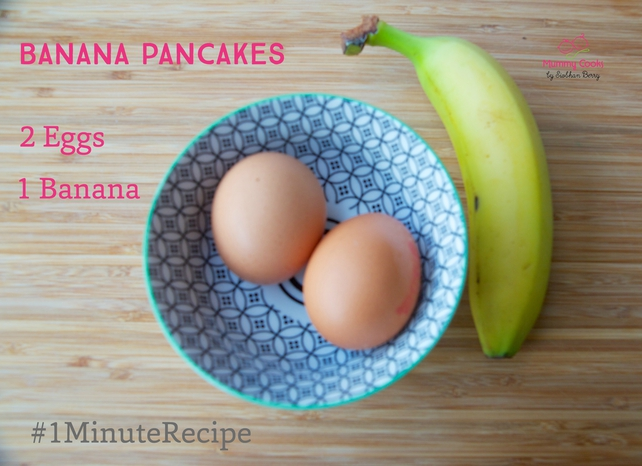 Banana Pancakes - kids will love them (adults too, of course)