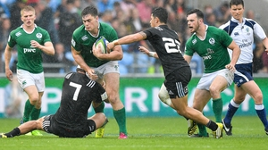 The U-20s were the first Irish men's side to beat New Zealand in any age-group
