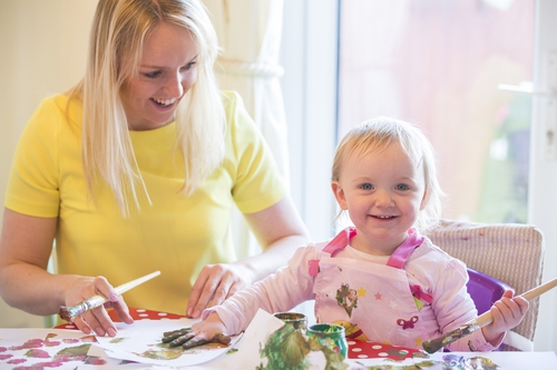 Ali shares her tips to keep the young 'uns busy and smiling