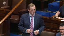 Enda Kenny told the Dáil that the €200m funding will not be accessible until next year