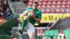 Andrew Trimble: 'Everybody's happy as Larry, but it's time to do the job again.'