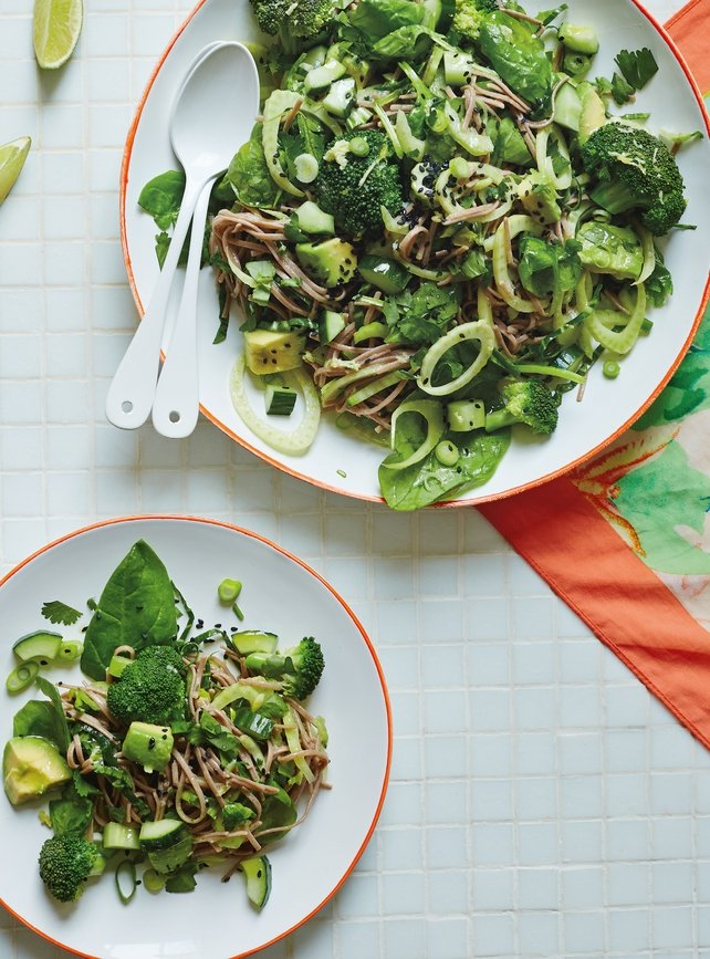 Green Goddess Noodle Salad