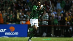 Clinton Morrison has a lot of love for the Irish supporters