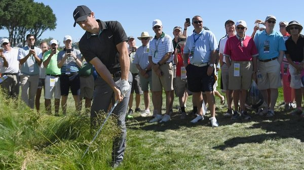 Rory McIlroy: 'I'd be very proud if I won on a golf course like this.'