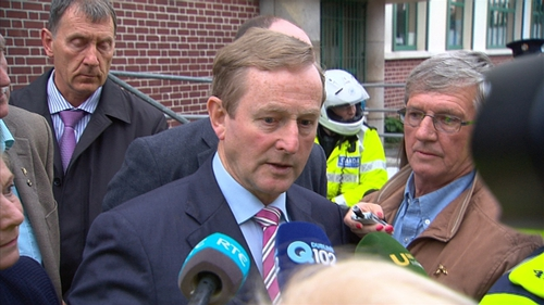 Enda Kenny said the meeting was very constructive and positive