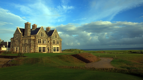 Donald Trump's golf course in Doonbeg, Co Clare