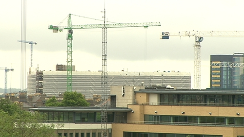 The construction sector is facing disruption due to industrial action by crane drivers