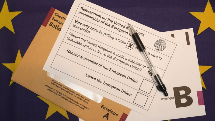 Voting underway in Brexit referendum