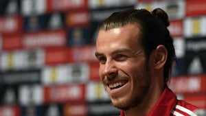 Bale has been hyping up his Welsh team-mates