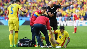 Bogdan Stancu is now an injury doubt for Romania's game with Albania