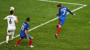 Antoine Griezmann starred in the Euros for France