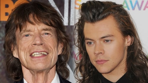 Mick Jagger and Harry Styles - Can you see the resemblance?