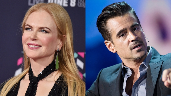 Kidman and Farrell - New thriller would see them play married couple