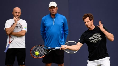 Andy and Ivan Lendl call time on Coaching Partnership