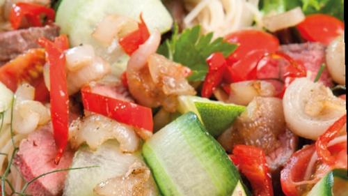 Recipe: Catherine Fulvio's Thai-style Beef Salad