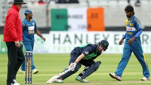 William Porterfield led Ireland with 73