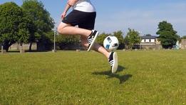 Dara's Football Skills: The Rainbow