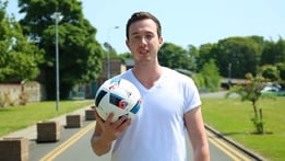 Dara's Football Skills: Zlatan Flick
