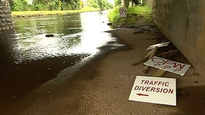 Locals said they are frustrated at the lack of action to deal with the threat of flooding on the River Deel in Co Mayo
