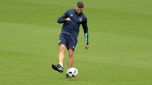 Jon Walters was with the Ireland squad at the Stade de Bordeaux